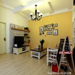 家装超小客厅板式收纳柜电视墙设计图