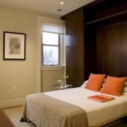 2017欧式风格小户型居家小型卧室装饰画柜子装修效果图欣赏