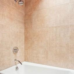 现代风格  卫生间浴缸效果图