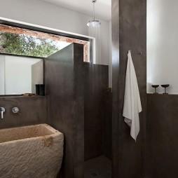 现代简约风格卫生间淋浴房效果图
