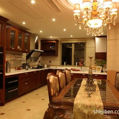 欧式风格复式楼厨房
