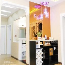 现代家装时尚入门玄关酒柜隔断装修效果图