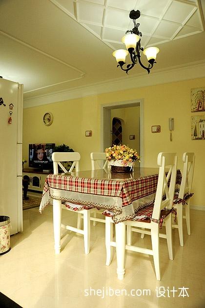 简欧风格卧室_小户型地中海风格客厅餐厅石膏线吊顶简单电视墙设计 – 设计本 ...