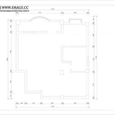 二层原始平面图