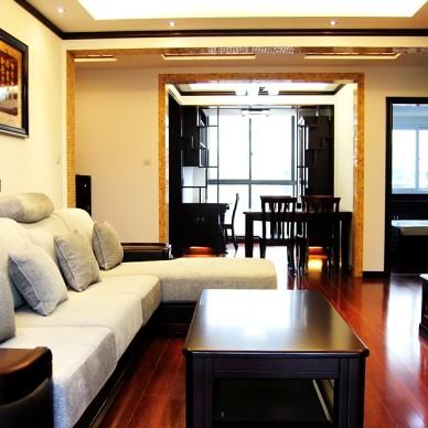 中式风格最新客厅装修效果图