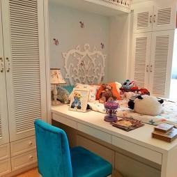 2017东南亚风格宜家儿童房书桌装修效果图片