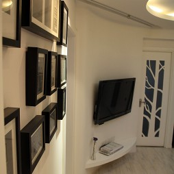 交换空间小户型背景墙设计效果图