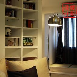 交换空间小户型书柜设计效果图