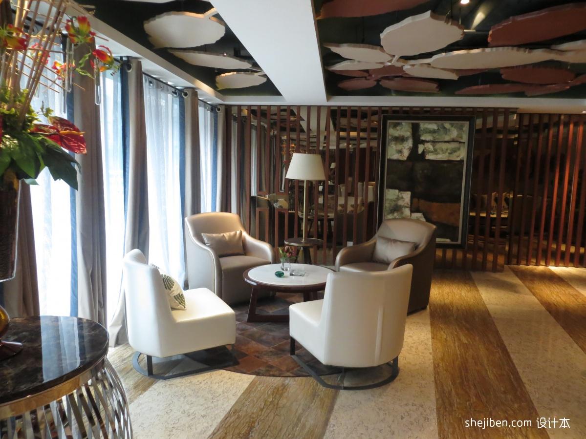 咖啡厅装修效果图_咖啡厅 – 设计本装修效果图