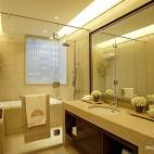 2013混搭风格样板房居家卫生间淋浴房洗手间装修效果图欣赏