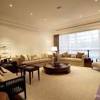 敞亮客厅石膏线装修效果图