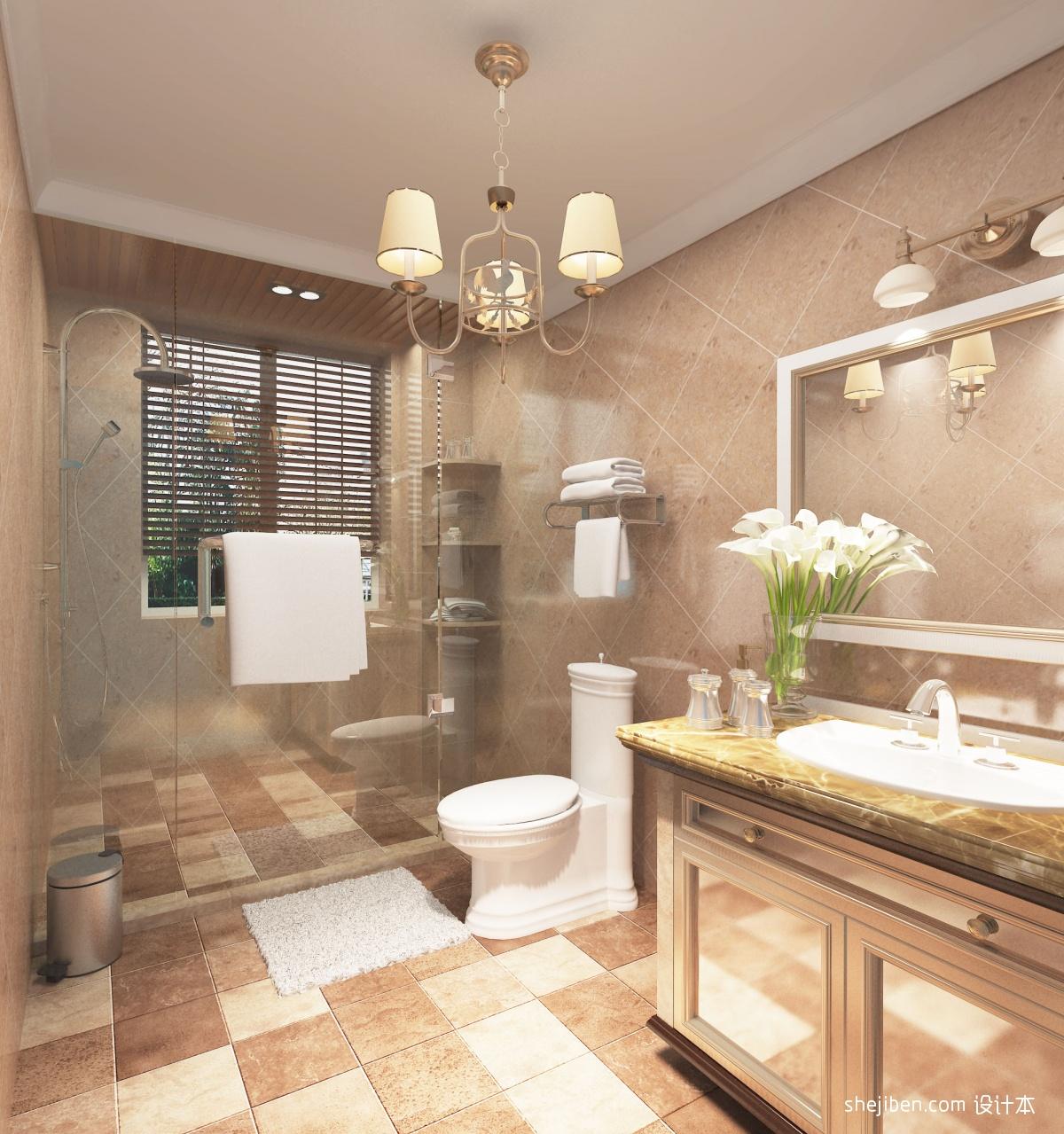 现代茶几_厕所 – 设计本装修效果图