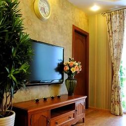 美式客厅背景墙图片大全