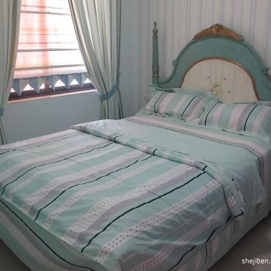 地中海风格绿色房间效果图大全