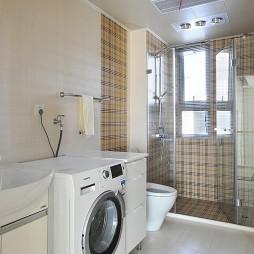 2017现代风格别墅豪宅主卫生间集成吊顶淋浴房装修效果图