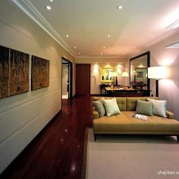 中式客厅过道效果图片