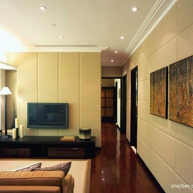 中式小客厅装修效果图