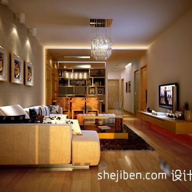 东南亚风格橡木色地板效果图
