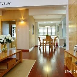 复式楼中式客厅带满梁吊顶红木家具布置效果图