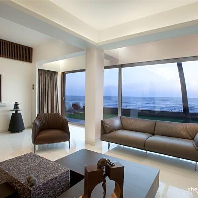 现代风格海滨豪宅设计