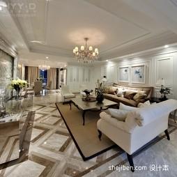 白色客厅装修效果图