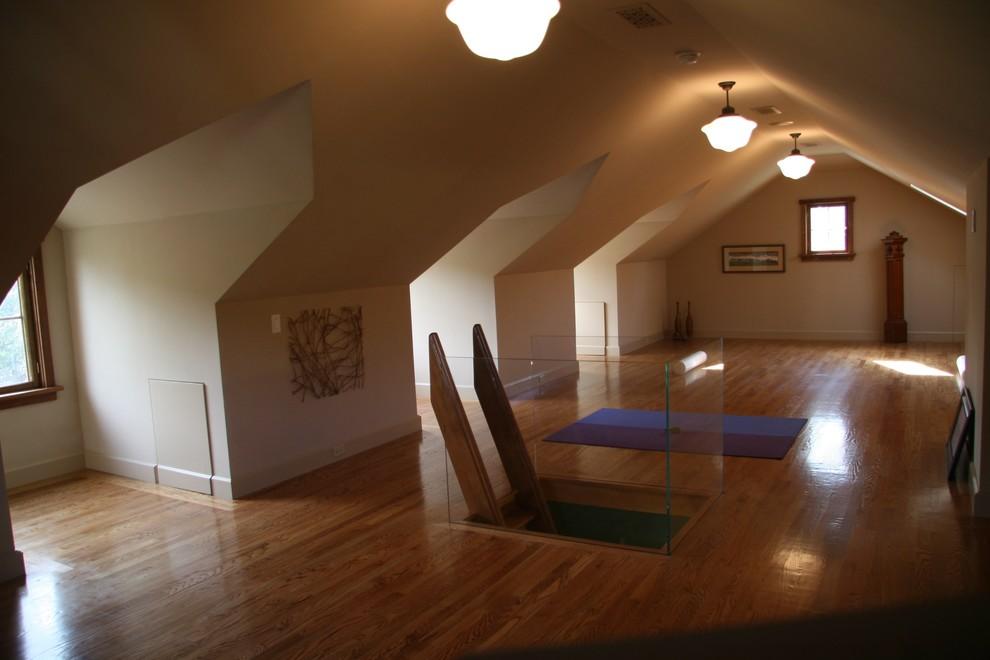 室内阁楼楼梯装修效果图 设计本装修效果图