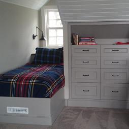 欧式卧室阁楼设计