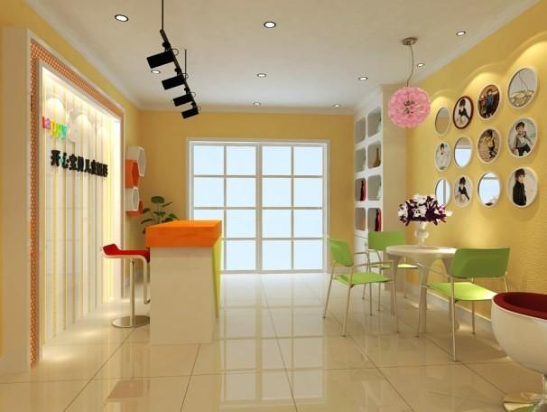 现代儿童生活馆装修设计