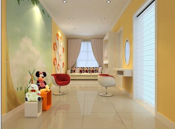 现代风格儿童生活馆装修设计