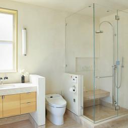现代风格家居卫生间淋浴房装修效果图