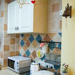 厨房柜子装修效果图图集