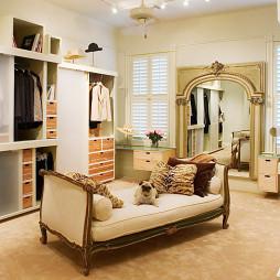 现代风格两室一厅衣帽间装修效果图大全2017图片