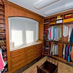 美式风格两室一厅衣帽间装修效果图大全2017图片