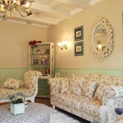 150平米简欧风格客厅沙发效果图