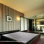 152 ㎡五零贰现代卧室床头背景墙带卫浴装修效果图