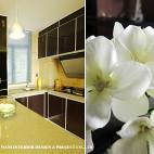 152 ㎡现代厨房吧台装修设计效果图