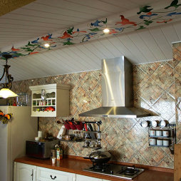 125平米混搭厨房装修效果图