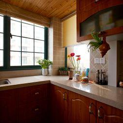 青林湾90平方米小公寓现代厨房装修效果图