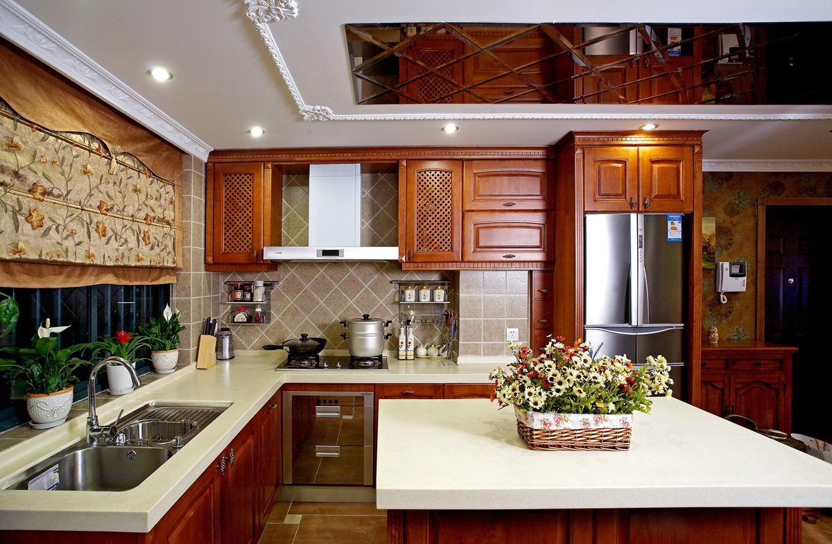 简欧风格卧室_欧式厨房装修效果图片 – 设计本装修效果图