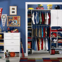 家装入墙衣柜装修效果图