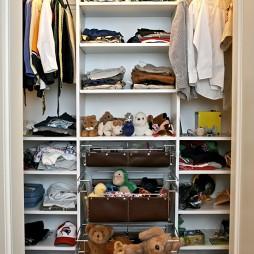 实木整体衣柜效果图欣赏
