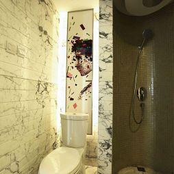 2017哈尔滨保利▪清华颐园现代风卫生间淋浴房效果图