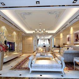 客厅瓷砖装修效果图