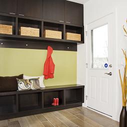 家庭過道儲物柜裝飾設計