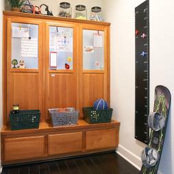 玄关间厅柜家装效果图