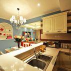 现代混搭风厨房装修效果图欣赏