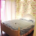 梦幻童话现代卧室墙纸装修效果图
