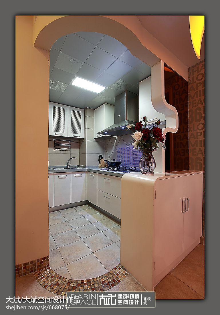 客厅垭口图片_现代风格厨房垭口装修设计效果图 – 设计本装修效果图