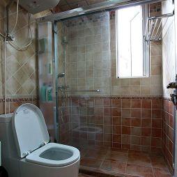 地中海风格卫生间淋浴房效果图