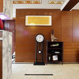 三居室中式玄关装修效果图